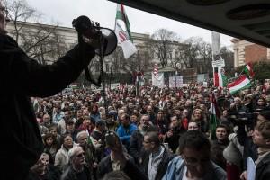 Devizahitelesek tüntetése Budapesten