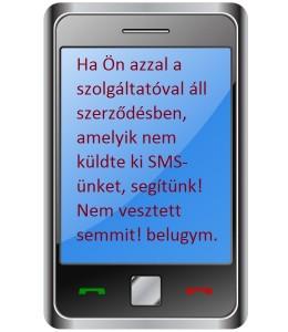 A meg nem kapott sms!