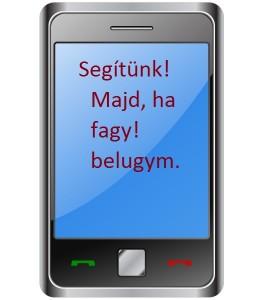 A frappáns és egyszerű sms!