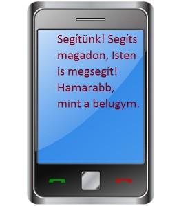 A vallásos témájú sms!
