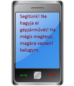 A felelősséghárító sms!