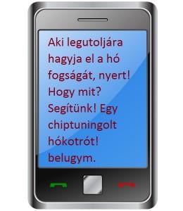 A nyerő sms!
