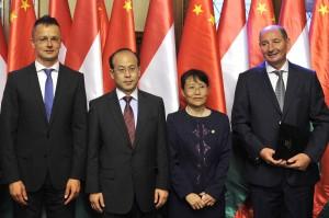 Torma András; Szijjártó Péter; Xiao Qian