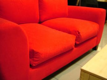 Egyszerű és színes bútorszövet