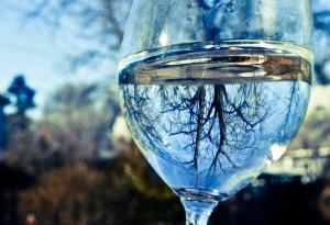 Egyedi kristály borospohár