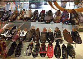 A cipőbolt nagy választéka