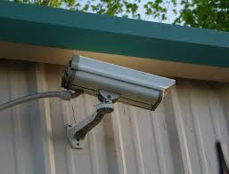 Kültéri kamera ellenálló burkolattal