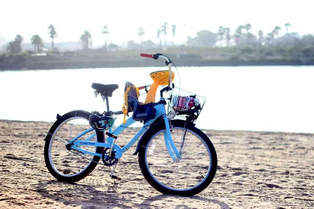 gyerekülés kerékpárra